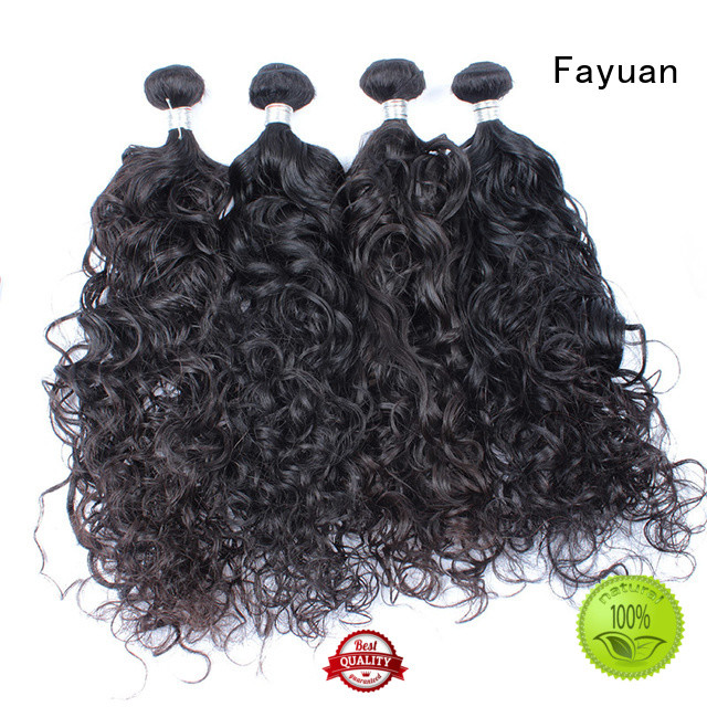 Fayuan curl natural wavy hair for barbershopp