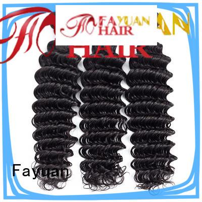Fayuan price peruvian hair curly weave company for barbershop