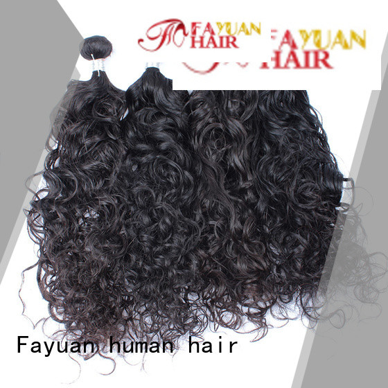 Fayuan Best malaysian curly hair bundle deals manufacturers for street