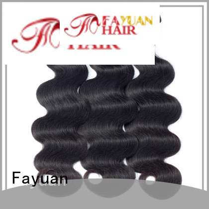 Fayuan virgin peruvian hair bundle deals company for women