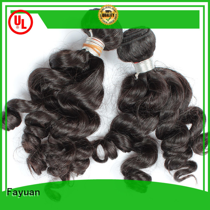 Fayuan Latest indian hair Supply for women