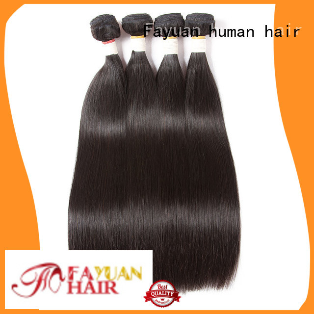 Fayuan brazilian blonde hair extensions match for barbershop