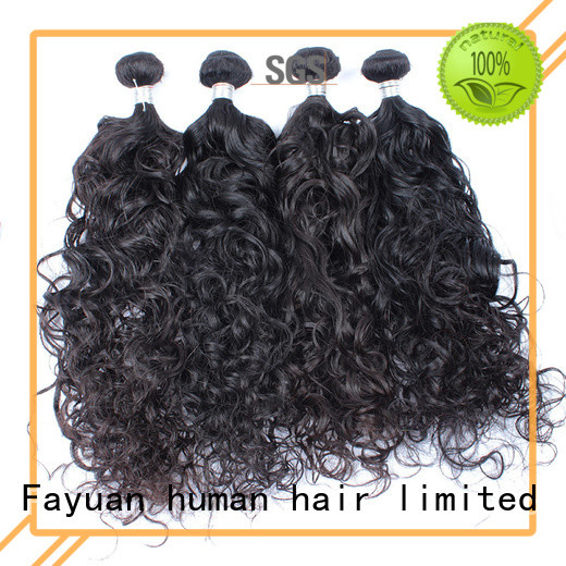 Fayuan Best malaysian curly hair weave for business for men