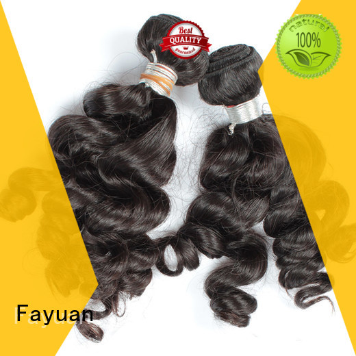 Fayuan Indian indian remy hair wave for men