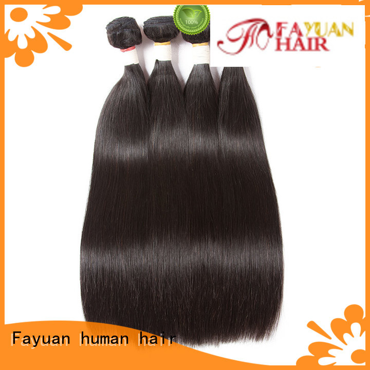 Fayuan Wholesale brazilian hair bundles wholesale Suppliers for barbershop