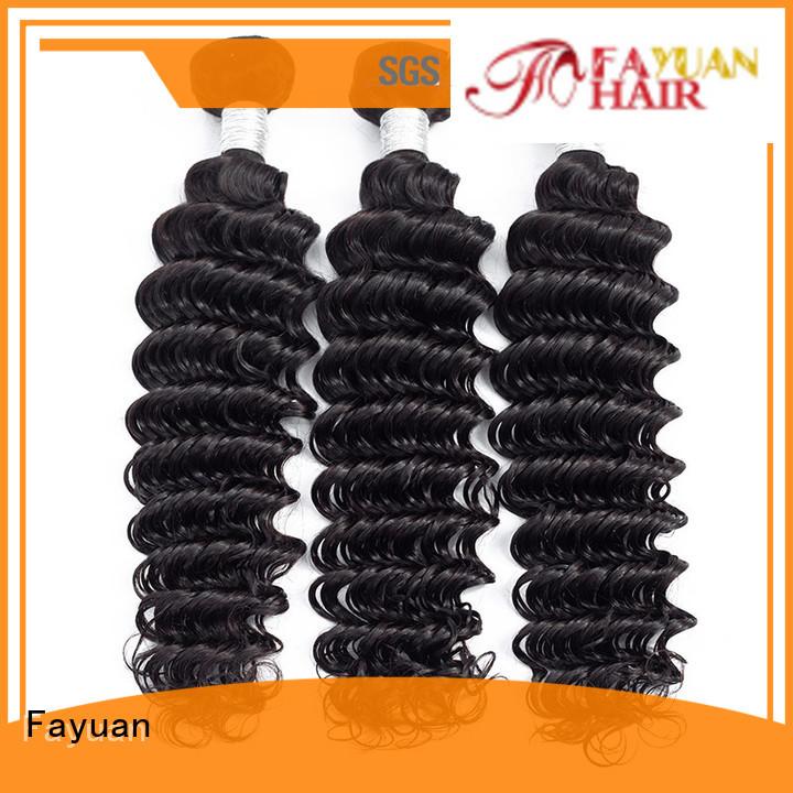 Fayuan bundles peruvian body wave wholesale for women