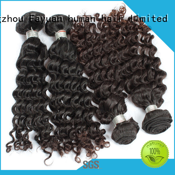 Fayuan Top malaysian curly hair bundles for business for street