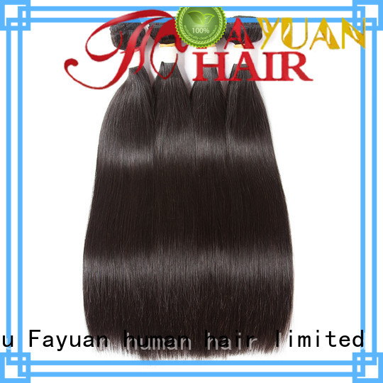 Fayuan Wholesale brazilian human hair weave bundles company for selling