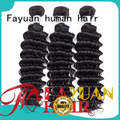 Fayuan wave peruvian wavy hair bundles company for women