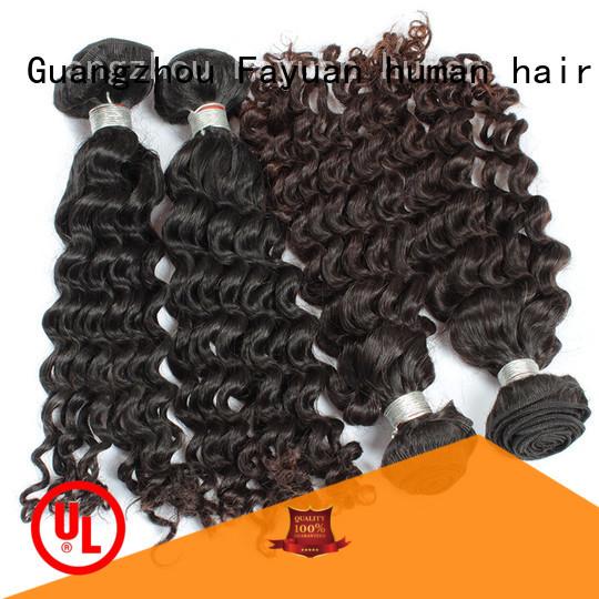 Fayuan human curly human hair manufacturers for women