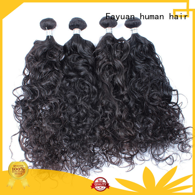 virgin deep wave hair manufacturer for street