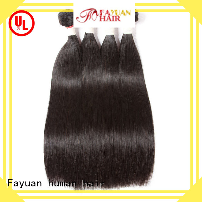Custom virgin brazilian hair extensions straight manufacturers for barbershop