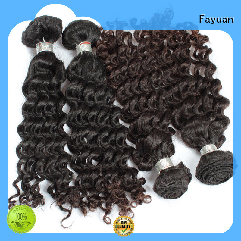 Fayuan curl curly hair extensions series for selling