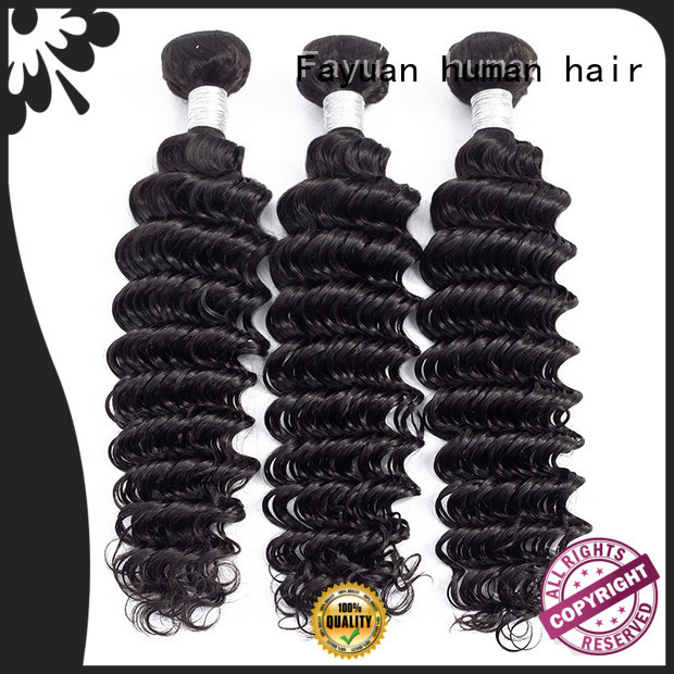 wavy hair extensions bundles for women Fayuan