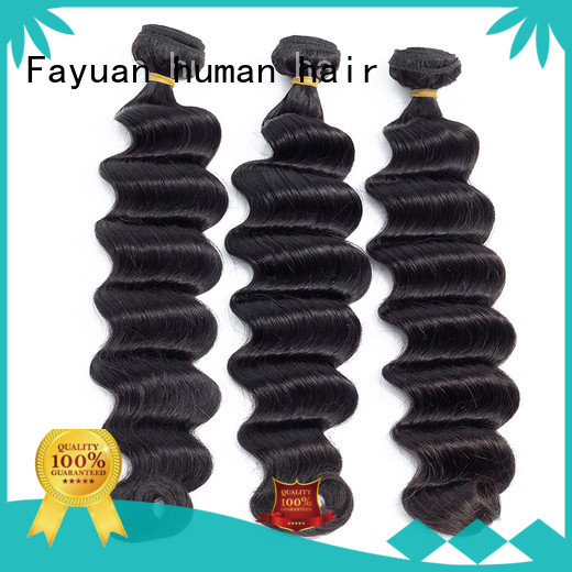 Fayuan deep best weave hair virgin for street