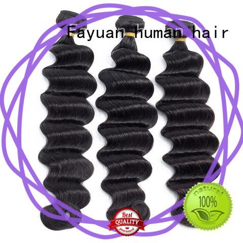 virgin best weave hair loose for men Fayuan