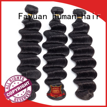 Fayuan deep cheap indian virgin hair Supply for street