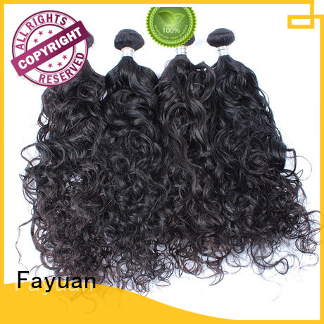 Fayuan grade good malaysian hair for cheap manufacturers for street