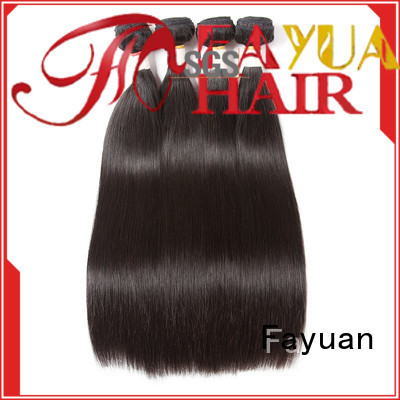 Fayuan High-quality brazilian straight hair Suppliers for barbershop