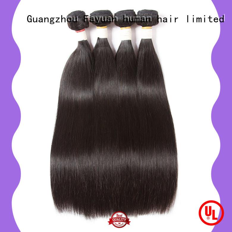 quality straight hair wig body for barbershop Fayuan