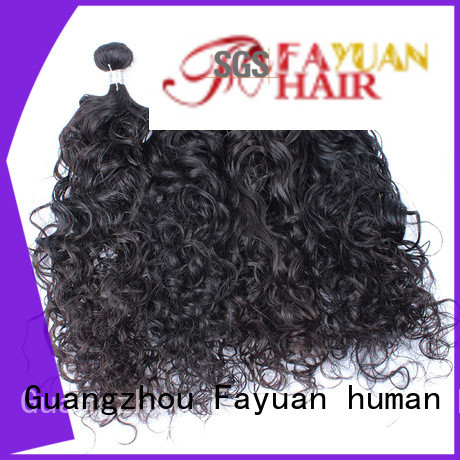 Fayuan loose malaysian hair bundles wholesale company for women