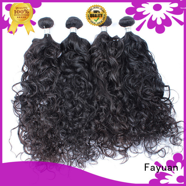 Fayuan wave cheap malaysian hair bundles Suppliers for men