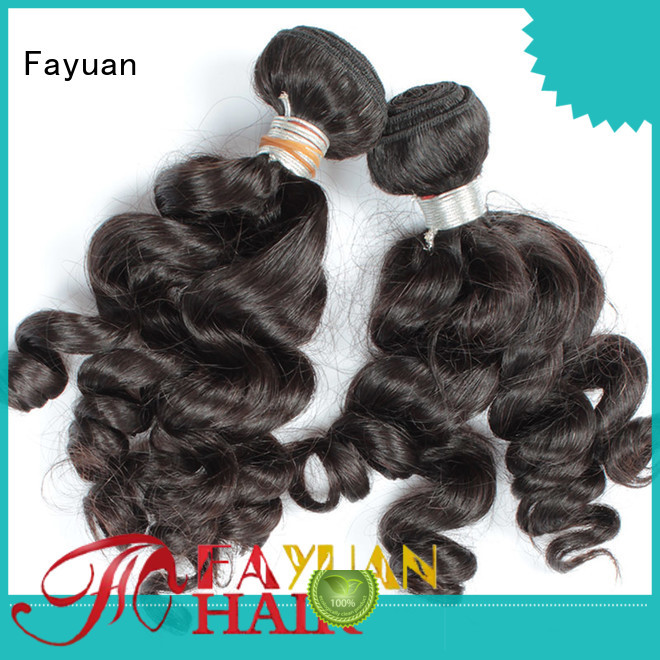 Fayuan New indian hair weave for cheap manufacturers for barbershop