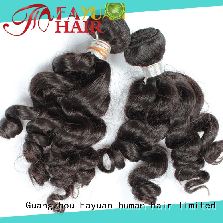 Fayuan deep indian human hair weave Supply for women