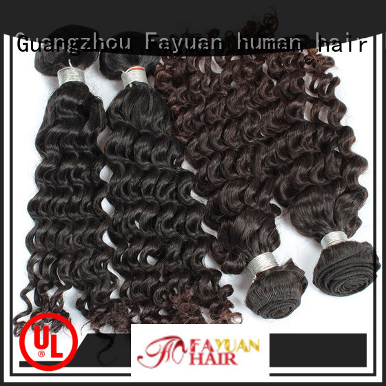 Custom malaysian wavy hair bundles loose manufacturers for men
