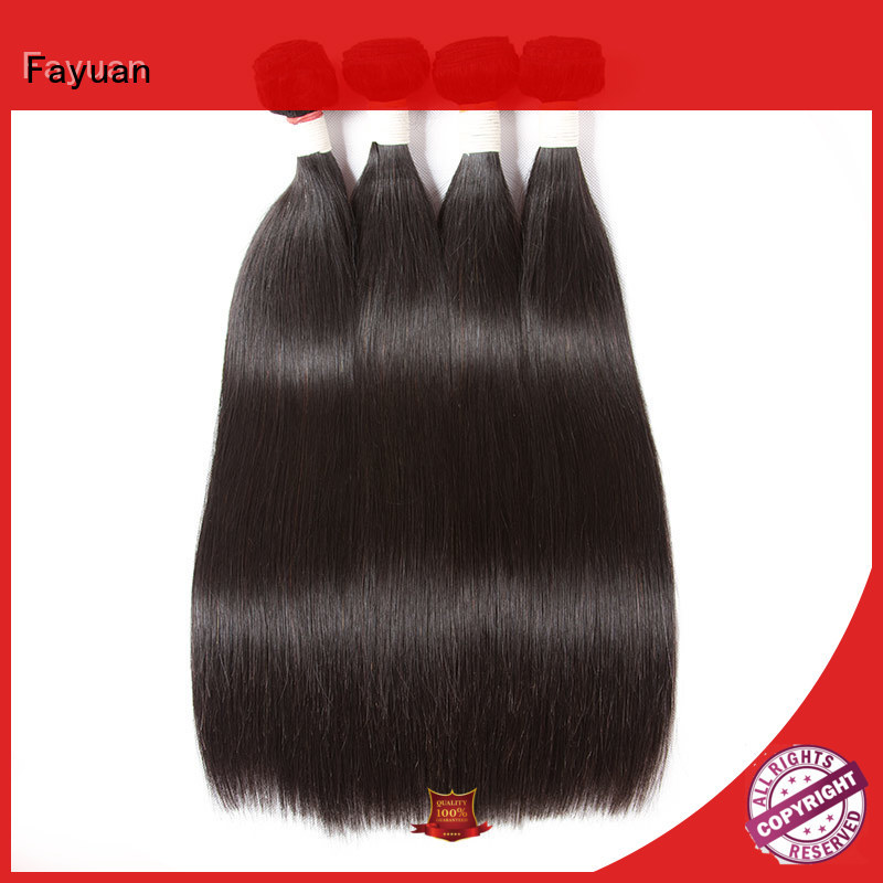 Fayuan 100 Brazilian Human Hair supplier for men