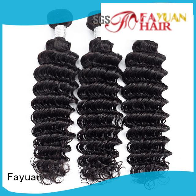 Fayuan virgin deep wave weave wave for street