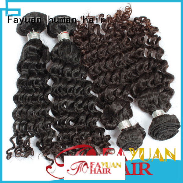 Custom malaysian human hair hair factory for women