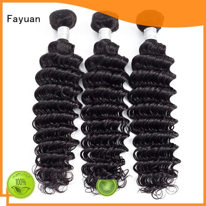 Fayuan Custom peruvian hair curly weave manufacturers for men