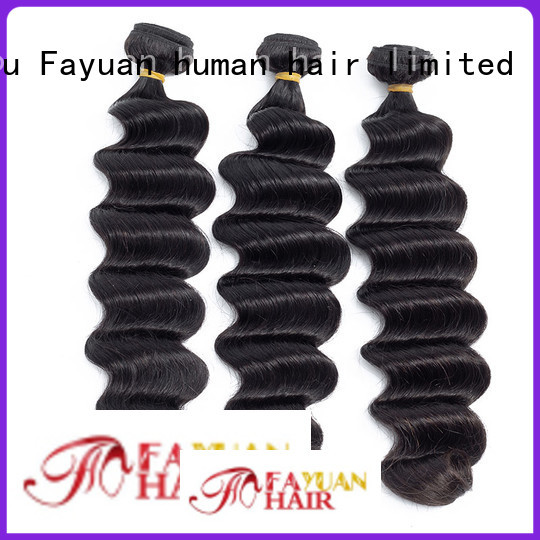 Fayuan grade indian hair wholesale suppliers company for women