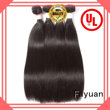 Fayuan Best cheap brazilian hair extensions company for street