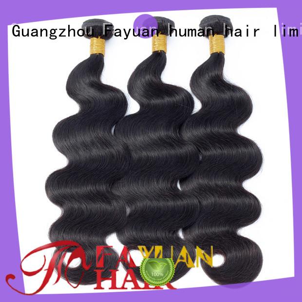 Fayuan wave peruvian hair weave bundles for business for street