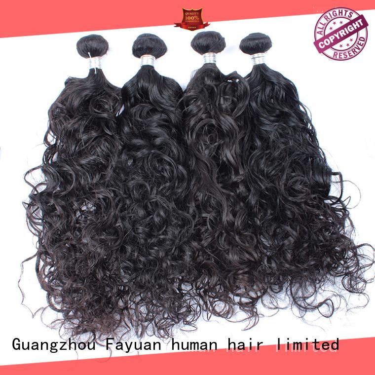 Fayuan virgin loose curly malaysian for barbershopp
