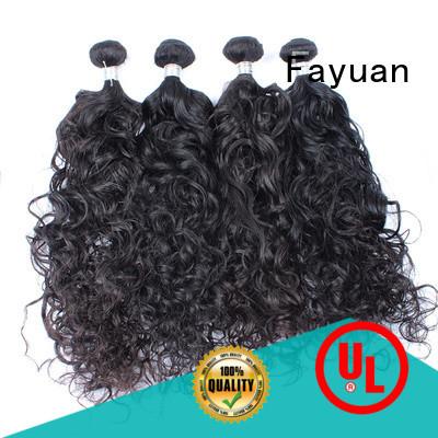 Fayuan wave virgin hair bundles human for women