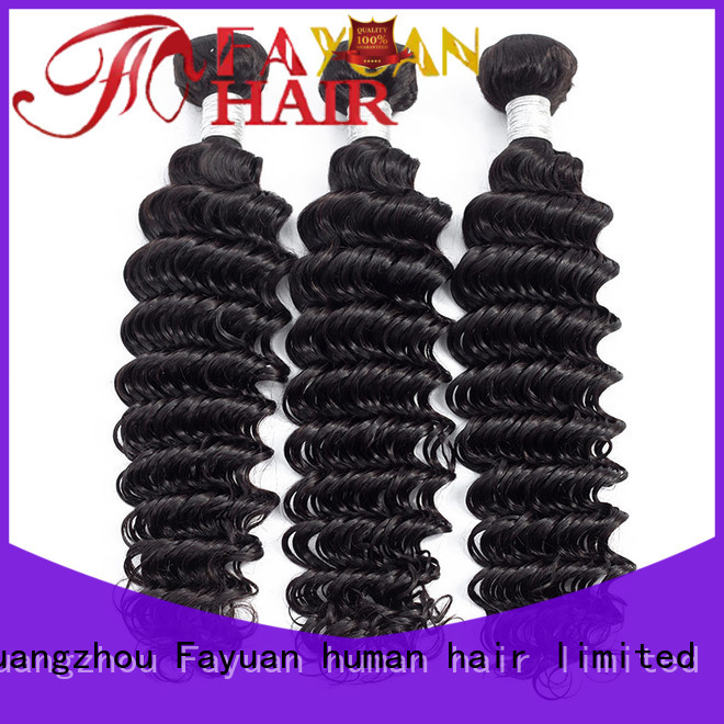 Fayuan Top best peruvian hair bundles Supply for barbershop