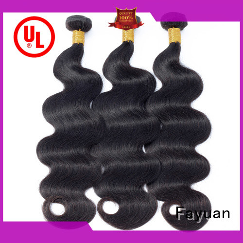 Fayuan body best peruvian hair extensions company for street