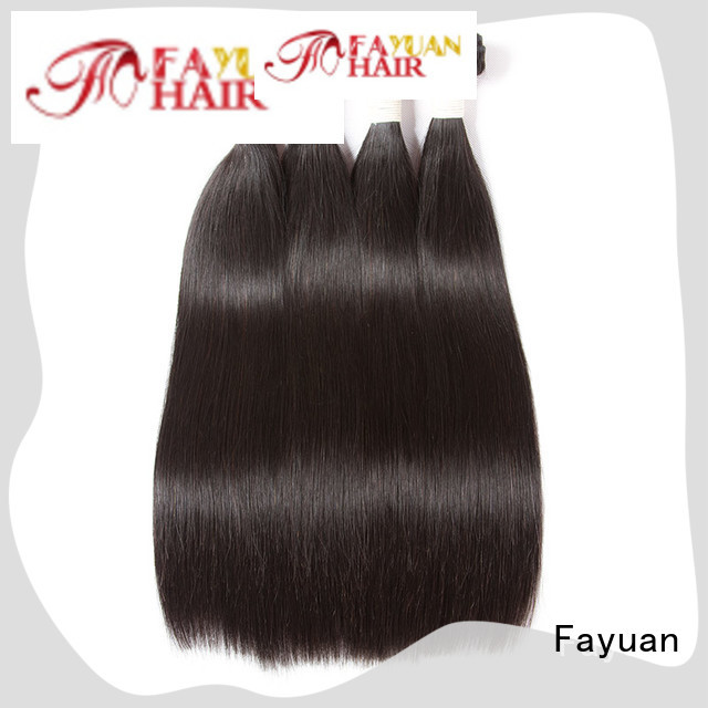 Fayuan virgin body wave weave human for men