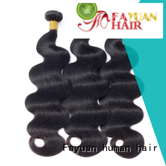 Fayuan bundles peruvian wavy weave Suppliers for barbershop