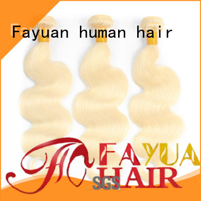 Fayuan virgin cheap brazilian human hair manufacturers for barbershop