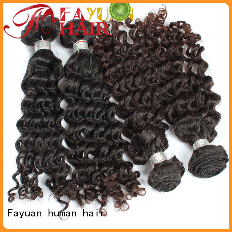 Fayuan loose best malaysian curly hair factory for selling