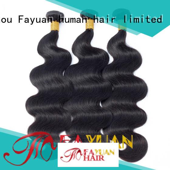 Fayuan Latest hair bundles manufacturers for street