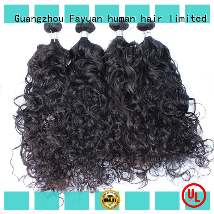 Fayuan curl wavy hair series for barbershopp