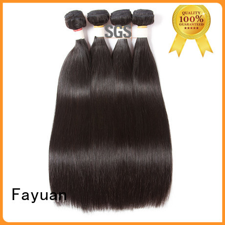 Fayuan quality affordable brazilian hair Supply for street