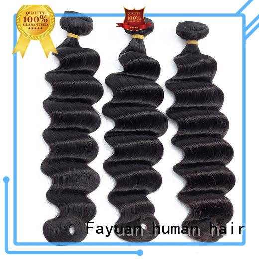Fayuan deep raw indian hair series for men