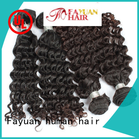 Fayuan Latest malaysian curly hair extensions company for men
