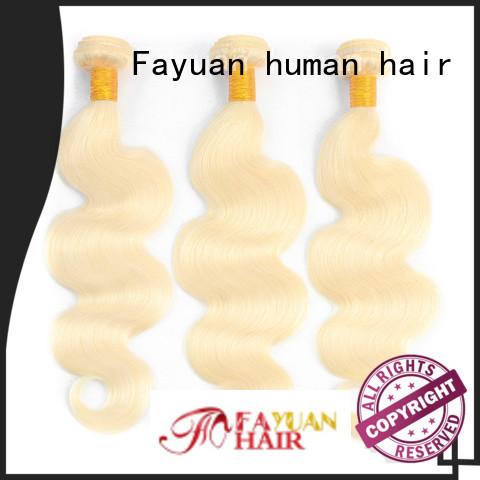 Fayuan virgin Brazilian Human Hair series for women